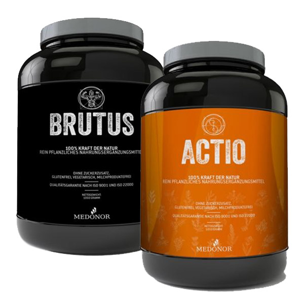 Actio and Brutus in Combi-Pack